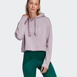Cropped Adidas sweatshirt!